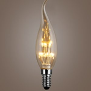 Decorative led flame bulb