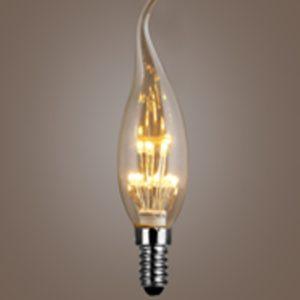 Decorative led flame bulb