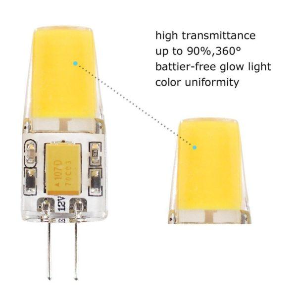 G4 2w cob led bulb high