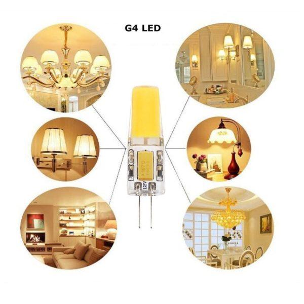 g4 cob led bulb usage