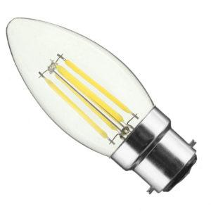 B22 4W Filament cool